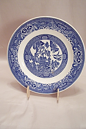 Royal China Willow Ware Pattern Luncheon Plate