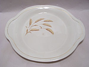 Edwin M. Knowles Wheat Pattern Oval Platter