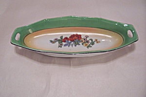 German Lustre Ware Relish Dish