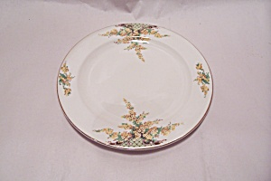 Edwin Knowles Hostess Yellow Flowers Salad Plate