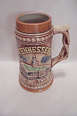 Tennessee Souvenir Porcelain Beer Stein