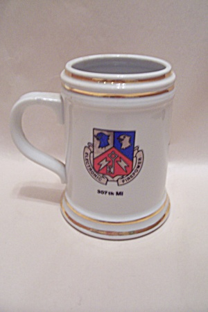 Us Military Unit Porcelain Beer Mug