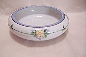 Occupied Japan Daisy Floral Motif Bowl