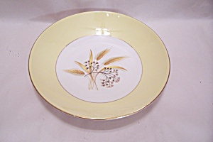 Autumn Gold Pattern Dinnerware Bowl
