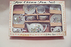 Occupied Japan Toy China Tea Set