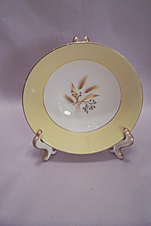 Century Services Autumn Gold Pattern Dessert Bowl