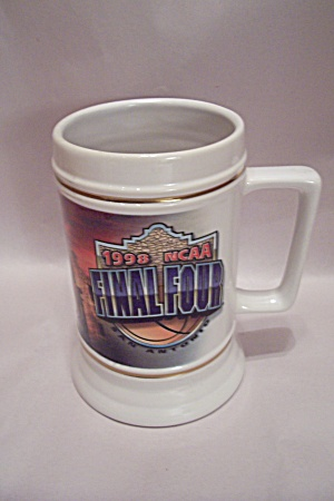 1998 Ncaa Final Four Basketball Souvenir Beer Mug