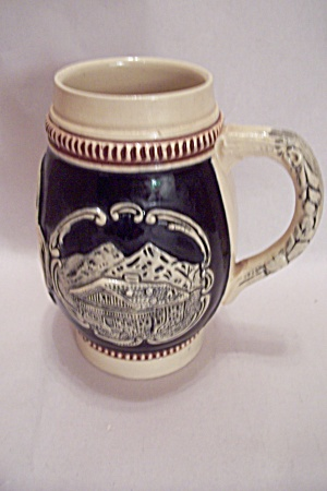 West German Porcelain Beer Stein