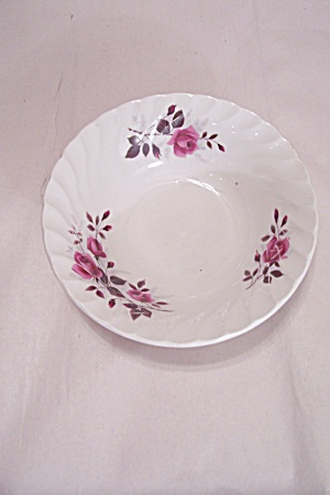 Ridgway Fragrance Pattern Ironstone Cereal Bowl