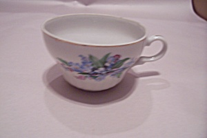 Occupied Japan Blue Daisy Pattern China Teacup