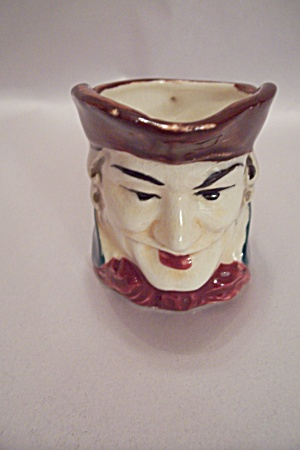 Occupied Japan Porcelain Toby Pitcher
