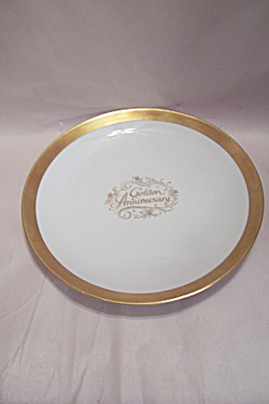 Golden Anniversary Wedding Commemorative Plate