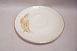 Harmony House Golden Wheat Pattern Saucer