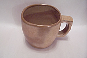 Frankoma Desert Gold Pottery Cup
