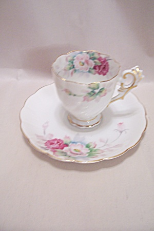 Occupied Japan Sango China Demitasse Cup & Saucer