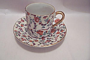 Occupied Japan Fine China Demitasse Cup & Saucer