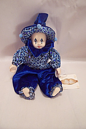 China Faced Clown Doll