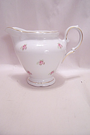 Winterling Bavarian China Rose Motif Creamer