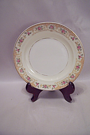 Crown Croyden Pattern Fine China Salad Plate