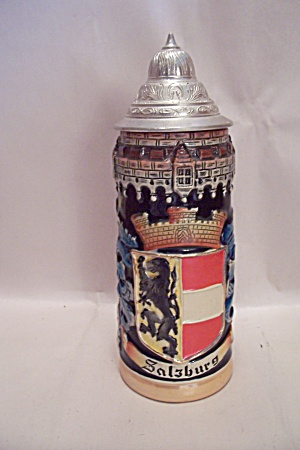 Salzburg, Germany Porcelain Beer Stein