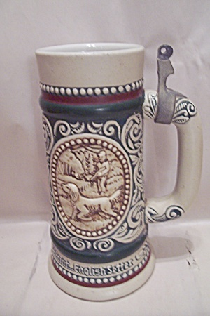 Avon Fishing & Hunting Porcelain Beer Stein