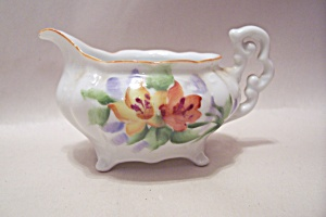 Occupied Japan Miniature Handpainted Porcelain Pitcher