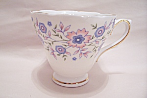 Avon Blue Blossoms Collectible Fine Bone China Teacup