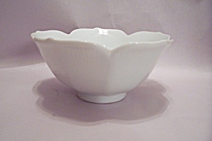 Lefton White China Bowl