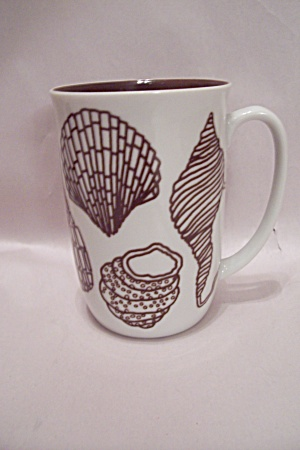 Fits & Floyd Seashell Decorated Mug