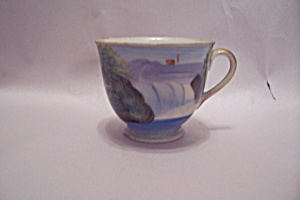 Occupied Japan Hand Painted Porcelain Demitasse Cup