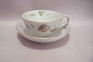 Harmony House West Wind Pattern Teacup & Bowl