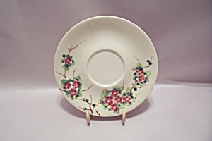 Occupied Japan Cherry Blossom Design Saucer