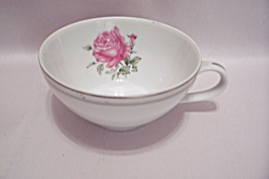 Imperial Rose Pattern Fine China Teacup