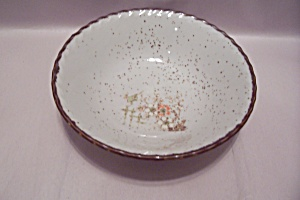 Floral Decorated China Serving Bowl