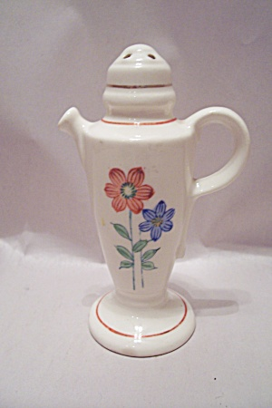 Occupied Japan Porcelain Teapot Salt Shaker