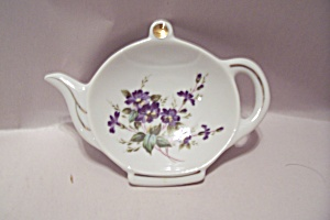 Lefton China Teapot Shaped Spoon Rest