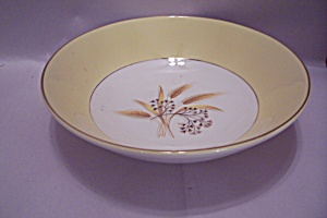 Century Service Autumn Gold China Vegetable Bowl