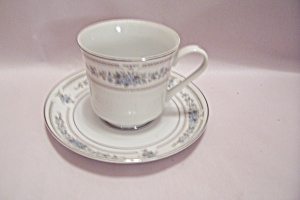 Elington Fine China Footed Cup & Saucer Set