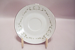 Sheffield Elegance Pattern Fine China Saucer