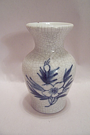 Flower Decorated Miniature Vase