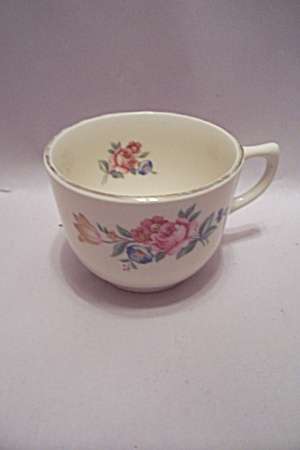 Usa Rose Decorated China Teacup