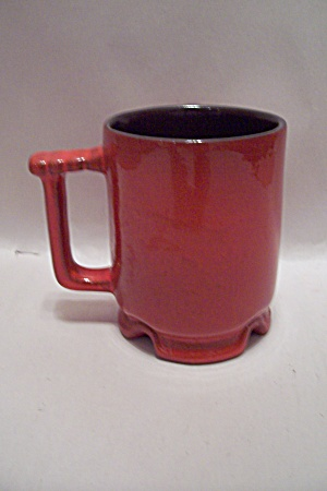 Frankoma Red Pottery Footed Mug