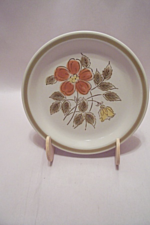 Japan Stoneware Wild Flowers Bread & Butter Plate