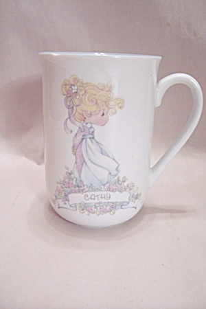 Porcelain Precious Moments Cathy Mug