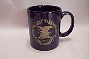 Black Porcelain National Rifle Association Mug