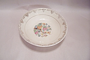 Sheffield China Floral Decorated Dessert/berry Bowl