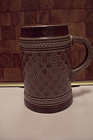 Tan Porcelain Beer Mug