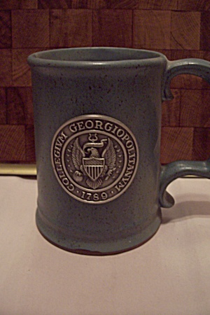 Gray Pottery Collegium Georgiopoltanum 1789 Beer Mug