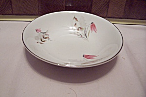 Royal Duchess Mountain Bell Pattern China Dessert Bowl