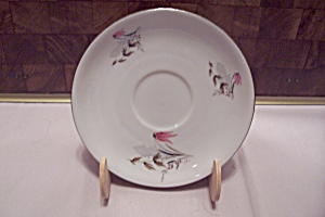 Royal Duchess Mountain Bell Pattern Fine China Saucer